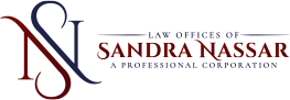 Logo of Law Offices of Sandra Nassar, A Professional Corporation.